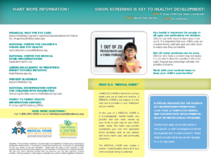 Vision Screening is Key to Healthy Development