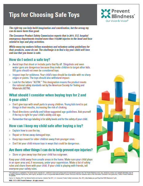 Tips for Choosing Safe Toys pdf file