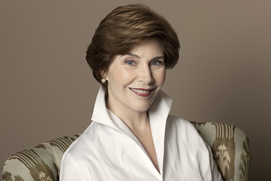 Former First Lady of the United States, Laura Bush