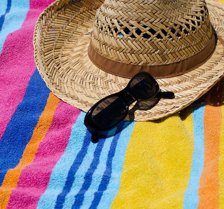 bigstock-Beach-towel-108137594