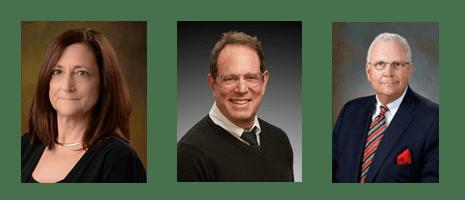 Dr. Sandra Block, Mark Ginsberg, and Richard Sanchez