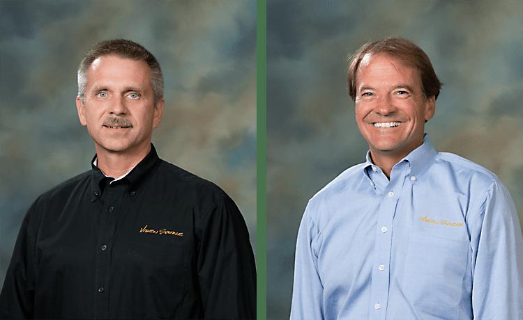 Glenn Ellisor, OD, and Jim Greenwood of Vision Source