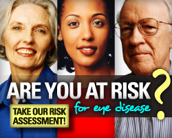 Are You at Risk for Eye Disease?