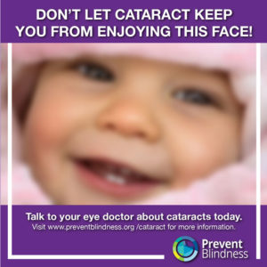 Don't Let Cataract Keep You from Enjoying this Face