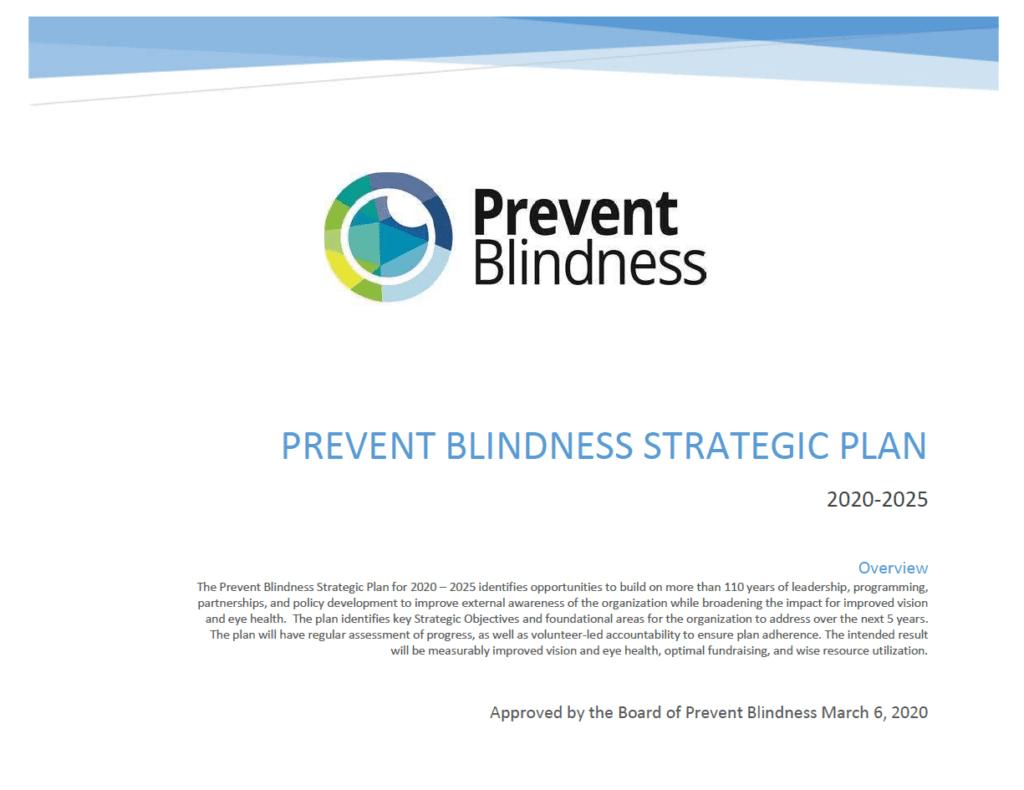 Strategic Plan Page 1