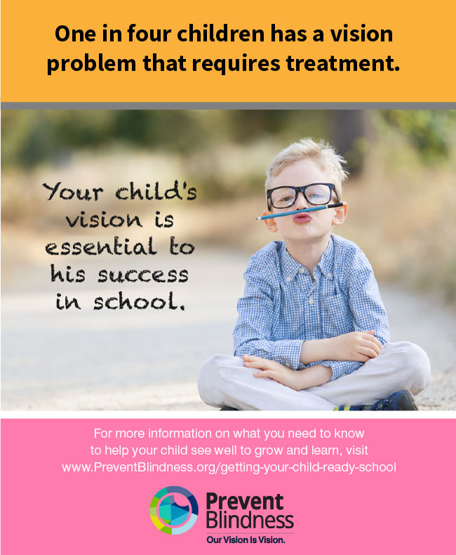 Your Vision is Essential to His Success in School