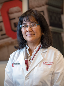 Sayoko (Sy) E. Moroi, MD, PhD, Chair and Director of the Department of Ophthalmology and Visual Sciences, The Ohio State University Wexner Medical Center