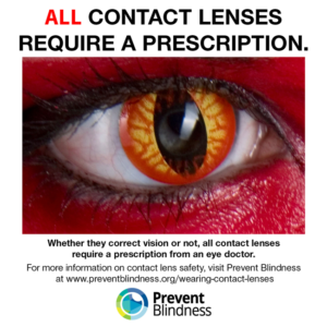 All contact lenses require a prescription.