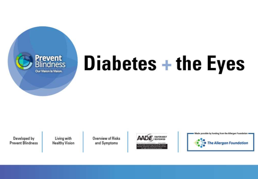 Diabetes and the Eyes PowerPoint presentation