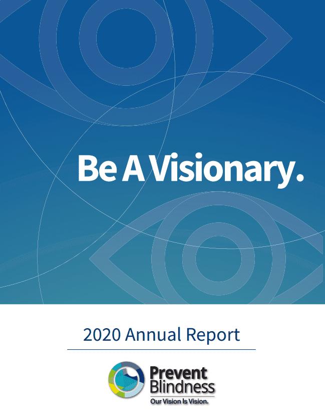 2020 Prevent Blindness Annual Report