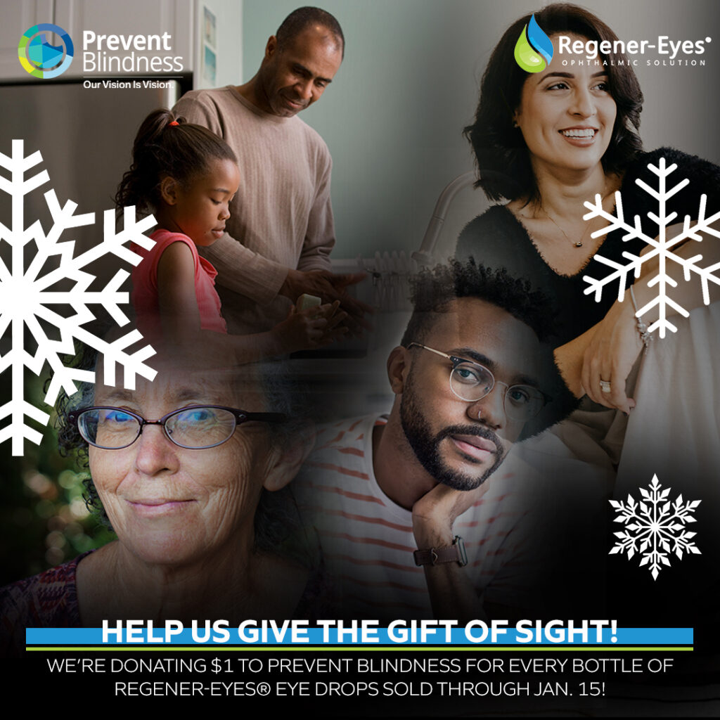 Help Us Give the Gift of Sight