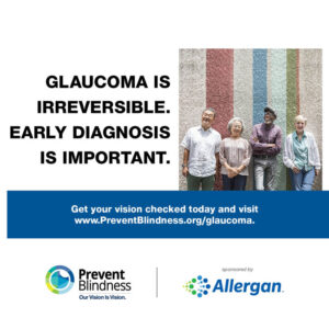 Glaucoma is irreversible. Early Diagnosis is Important