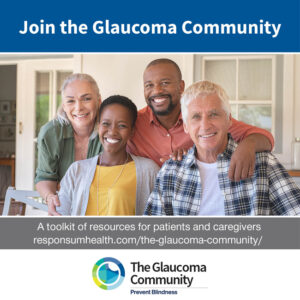 Join the Glaucoma Community