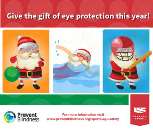Give the gift of eye protection this year.