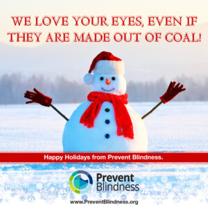 We love your eyes, even if they are made out of coal!