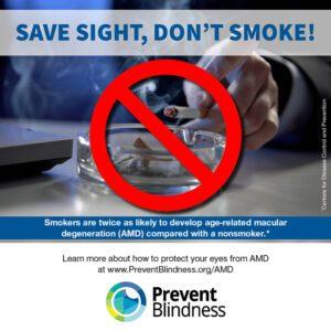 Save Sight, Don't Smoke!
