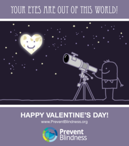 Valentine's Day Eye Infographic