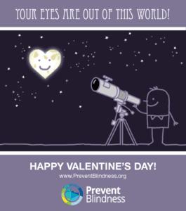 Valentine's Day Eye Infographic