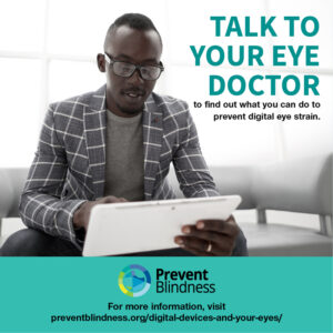Talk to Your Eye Doctor - workplace wellness