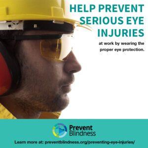 Help Prevent Workplace Eye Injuries