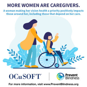 More women are caregivers.