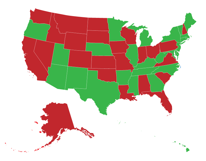 Children's Vision Screening Requirements by State