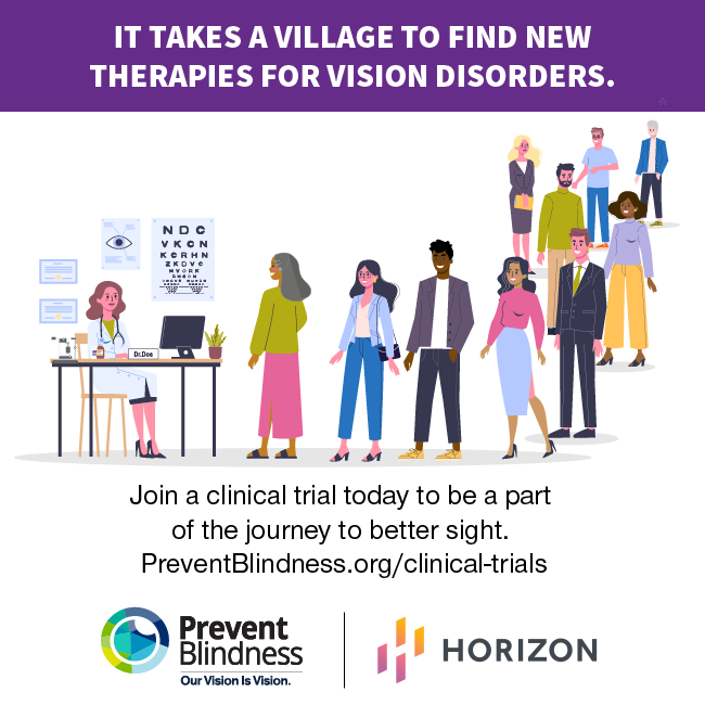 It takes a village to find new treatments for vison disorders.
